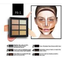 Wholesale OEM Hot Sale Makeup Contour Palette Face Cream 6 Color Correcting Concealer from china suppliers