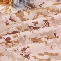 China TC army digital printed camo textile polyester cotton 65/35 ripstop camouflage fabric on sale