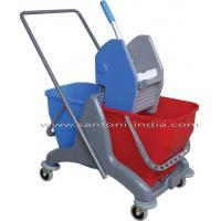 Wholesale Twin Bucket Wringer Trolley from china suppliers