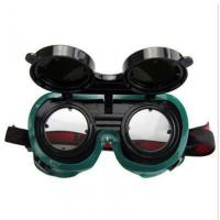 Buy cheap auto darkening welding goggles Protective Safety Welding Goggles With Folding Lens from wholesalers