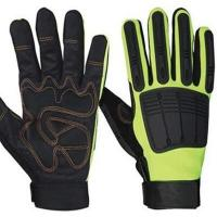 Buy cheap Safety Gloves hand protection mechanics gloves Anti-slip Knuckle Protection Mechanic Gloves from wholesalers
