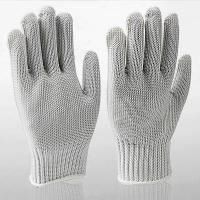 Wholesale butcher gloves stainless steel Stainless Steel Wire Dyneema Anti-Cut Butcher Gloves from china suppliers
