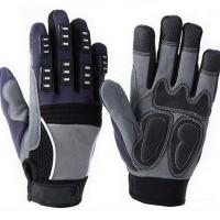 Buy cheap Safety Gloves Microfiber Leather Mechanic Gloves from wholesalers