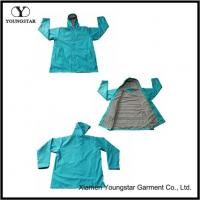 Wholesale Chic Style Waterproof Long Rain Coat For Adult With Lined from china suppliers