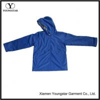 Wholesale Unisex Waterproof Jacket Fashion PU Raincoat With Hood Online from china suppliers