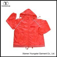 Buy cheap Polyester Windbreaker Jacket With AC Coating from wholesalers