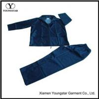 Wholesale Cheap Two Piece Mens Polyester Rain Suit Gear For Fishing from china suppliers