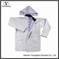 Buy cheap Designer Lined Raincoat Women Stylish Fashion Long Raincoat With Hood from wholesalers