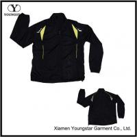 Wholesale Black Polyester Sports Sporty Sport Jacket For Men from china suppliers