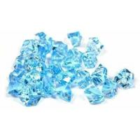 Wholesale Tanday 2 Pounds Baby Blue Acrylic Ice Rock Vase Filler Gems or Table Scatter from china suppliers