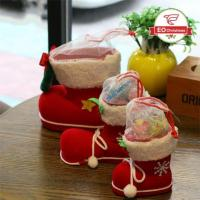 Wholesale Red Christmas Stocking Boots from china suppliers