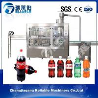China Latest Commercial 3-in-1 PET Bottle Carbonated Drink Soda Water Maker Filling Machine on sale