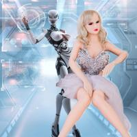 Buy cheap Black Eye Super Realistic Female Sex Robot , TPE Premium Sex Doll from wholesalers