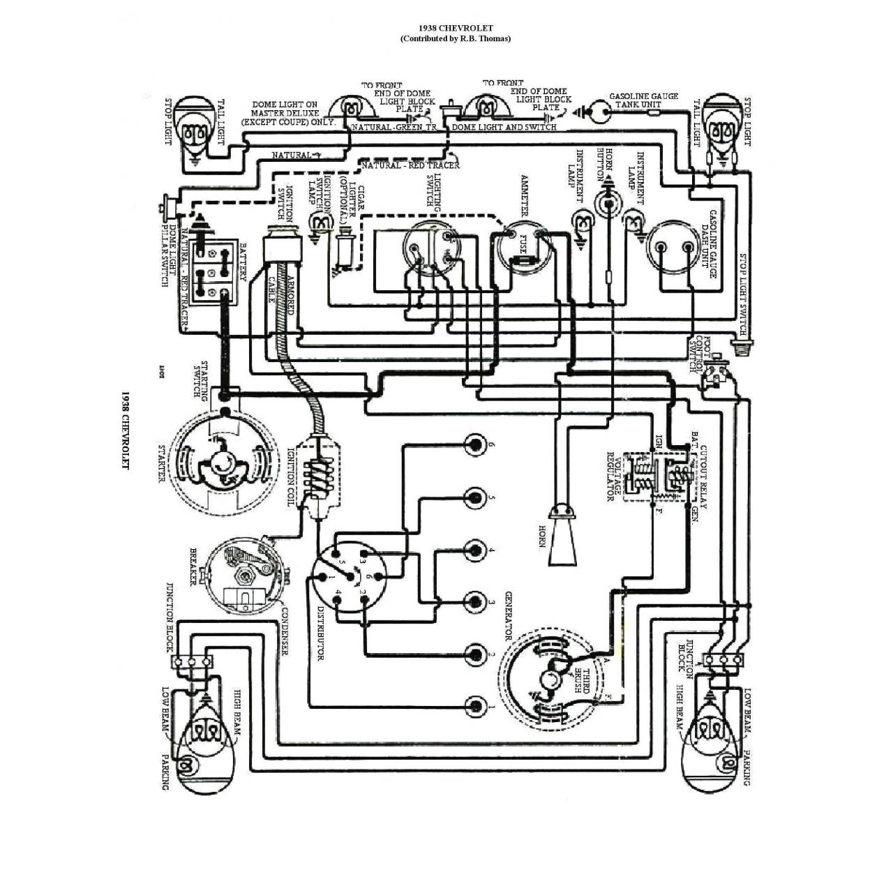 China 1929 Ford Model A Ignition Switch Wiring Diagram on sale
