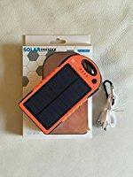 Buy cheap Solar Phone Chargers Li-polymer battery 12000mAh from wholesalers