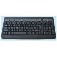 China 101key Mechanical Programmble Keyboard with Magnetic Card Reader for sale