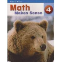 Buy cheap Math Makes Sense Text Book 4 from wholesalers
