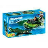 Buy cheap Playmobil #4446 - Alligator Hunters Hovercraft from wholesalers