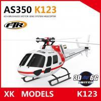 Buy cheap Free Shipping Rc helicoptero remote control toy XK K123 6CH Brushless AS350 Scal from wholesalers