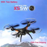 Buy cheap HOT UAV Brand Kvadrokopter SYMA X5SW FPV Drones with Camera X5SW-1 RC Quadrocopt from wholesalers