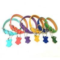 China Hot Sale Pet Accessories Soft Small Leather Dog Collar China Pet Supplies on sale