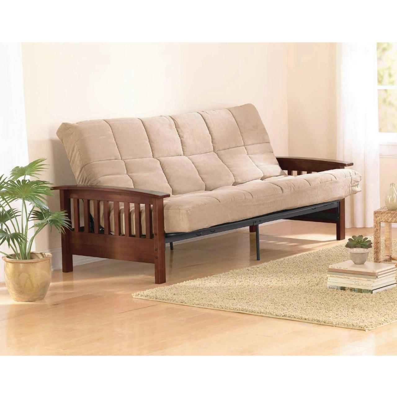 China Wooden Futon Walmart on sale