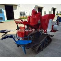 Buy cheap 4LZ-0.8 NEW without tail pulley mini muddy field applicable wheat combine harvester from wholesalers