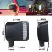 China Smoke Lens White Sidelight Rearview Side Mirror Turn Signal Lights For Jeep Wrangler JK on sale