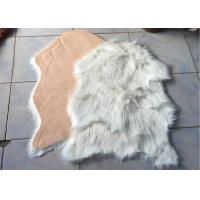 Wholesale Hotel Synthetic Microfiber Australian Sheepskin Rug Elegant For House Decoration from china suppliers