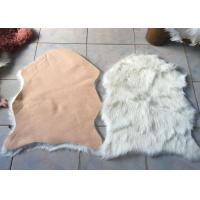 Wholesale Kitchen Faux Fur Australian Sheepskin Rug Durable Comfortable With Artificial Wool from china suppliers