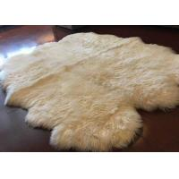 Wholesale Long Hair White Australian Sheepskin Rug Merino Wool For Living Room Throws from china suppliers
