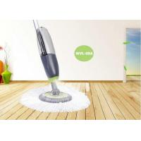 China Professional Refillable Floor Spray Mop For Ceramic Tiles Round Head on sale