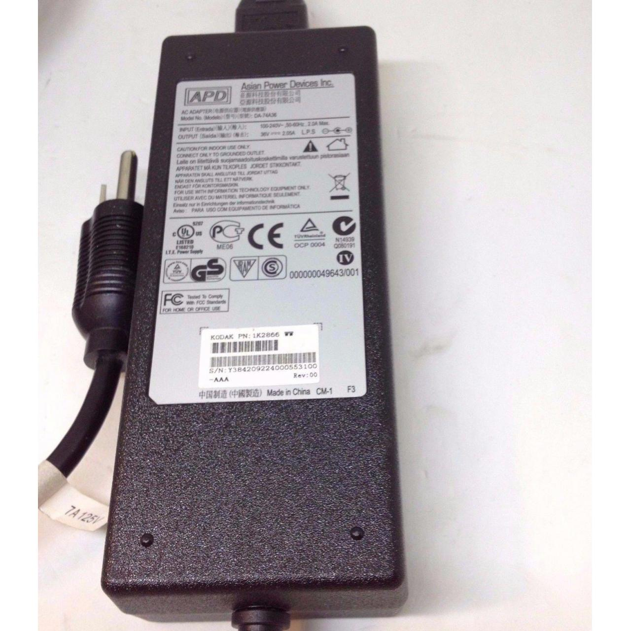 Wholesale Gneuine ASIAN POWER DEVICES INC AC ADAPTER DA-74A36 36V 2.05A power supply from china suppliers