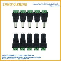 dc male and female connector for led strip light for sale