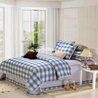 Wholesale Blue Black College Dorm Room Bedding Sets from china suppliers