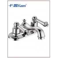 Buy cheap SW-7205 4-inch Washbasin faucet from wholesalers