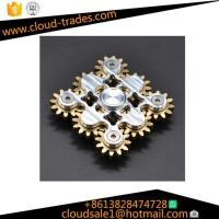 Wholesale EDC High Quality Bearing Material Windmill hand spinner toys Metal Tri Fidget fidget spinner from china suppliers