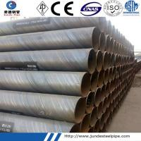 Buy cheap API 5L Spiral Welded Steel Pipe Line for Oil and Gas Transport from wholesalers