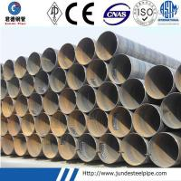 Wholesale API 5L GrB ASTM A53 GrB SSAW Pipe for Oil and Gas and Water Transport Pipe from china suppliers