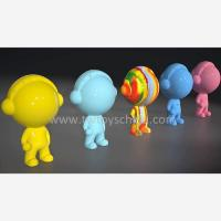 China Resin Figure Lovely Nippon Paint Mini Figures Different Colors on sale