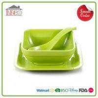 Buy cheap Cheap White Square Dessert Bowls And Red PlasticSmall Dessert Bowls Set from wholesalers