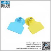 Wholesale blueworth hot sale 1#+4# tpu ear tags for pig and sheep from china suppliers