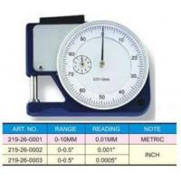 China POCKET DIAL THICKNESS GAUGE on sale