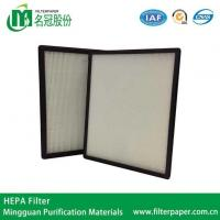 Wholesale Panel Filter Construction H12 HEPA Filter for Air Purifier from china suppliers