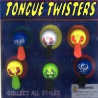 """Wholesale Tongue Twisters 2"""" Toy Capsules 250 pcs from china suppliers"""