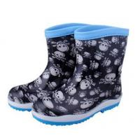 China PVC Cool Boys Rain Boots on sale