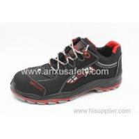 Wholesale AX02004R sfety shoes with firberglass toe-cap and kelver middle sole from china suppliers