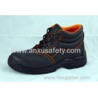 China Middle Cut Safety boots AX05022B CE leater steel safety boots on sale