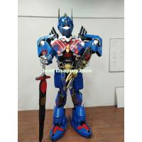 Wholesale Halloween Costumes and Decorations Transformers Optimus Prime Armor Robot costume for Party from china suppliers