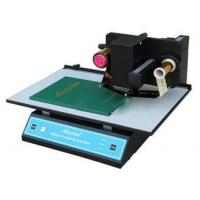 China Customized Hot Stamp Printer , Hot Stamping Machine For Leather For Leather / PVC 3050A on sale